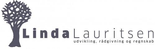 Linda Lauritsen - rådgivning, regnskab, udvikling logo